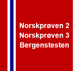 Norskproven Bergenstesten Norwegian