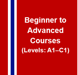 Norwegian Beginner to Advanced Courses
